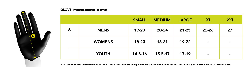 Altura Size Guide - SportPursuit