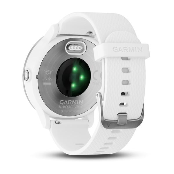 Garmin Vivoactive 3 Stainless Steel HR GPS Smart Watch