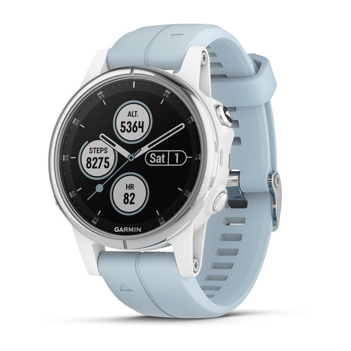 Garmin Fenix 5S Plus White GPS Watch
