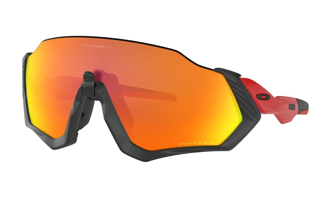 43318517e41 Oakley Flight Jacket Prizm Ruby Red Sunglasses - Eyewear - Cycle SuperStore