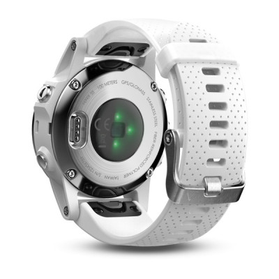 Garmin Fenix 5S White with Carrara White Band GPS Watch