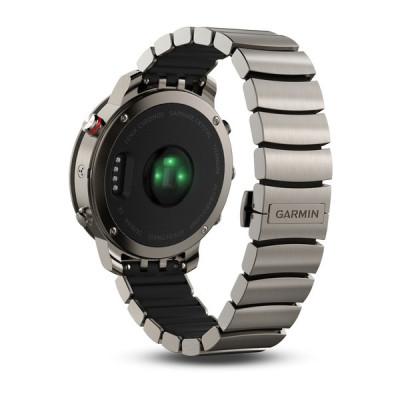 Garmin Fenix Chronos Brushed Titanium Hybrid Watch Band GPS Smartwatch