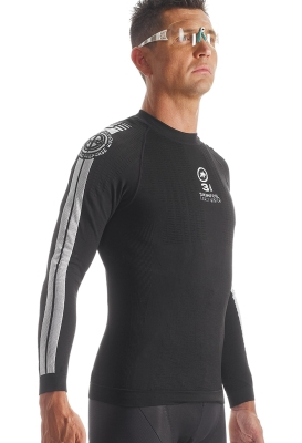 46c35dbe3 Assos LS.skinFoilEarlyWinter evo7 Unisex Long Sleeve Base Layer. Additional  Image Additional Image Additional Image Additional Image