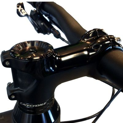 "QSE080X2015//BBQ Black 80mm x 20 Degree Cannondale 1.5/"" Mountain Stem"